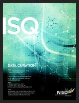 Cover of Information Standards Quarterly, Fall 2013