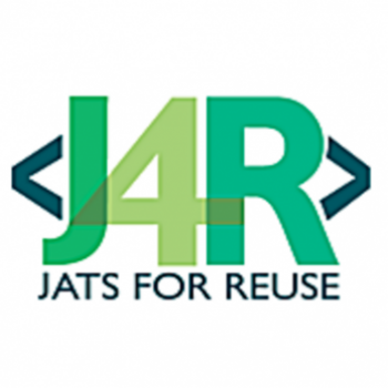 Logo of JATS4F Working Group (JATS for ReUse)