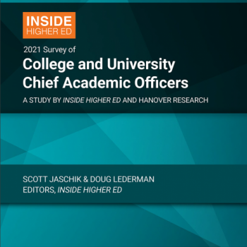 Publication Cover 2021 Survey of College & University Chief Academic Officers