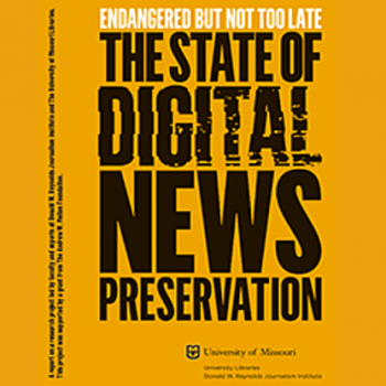 State of Digital News Report Cover